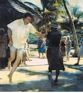 Mission Party in Bequia 1986