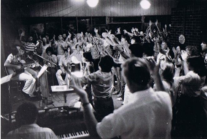 Friday Night Worship at Bezek Centre 1976