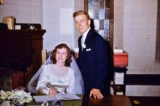 Dundas Wedding September 10 1952