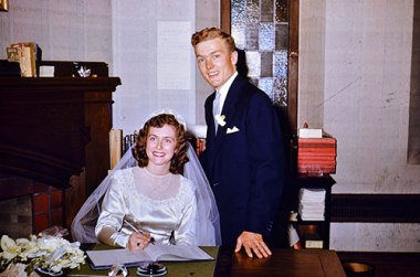 Dundas Wedding September 10 1952